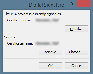 The digitial signature dialog in VBA
